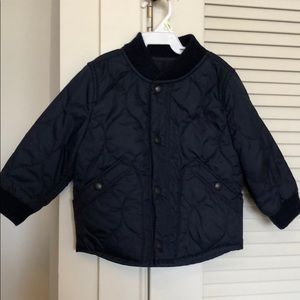 Gap fleece-lined quilted jacket toddler 2years